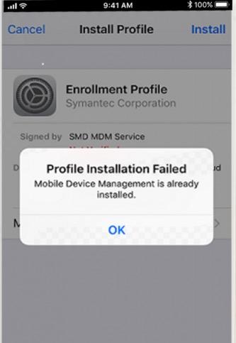Profile Installation Error - AppValley