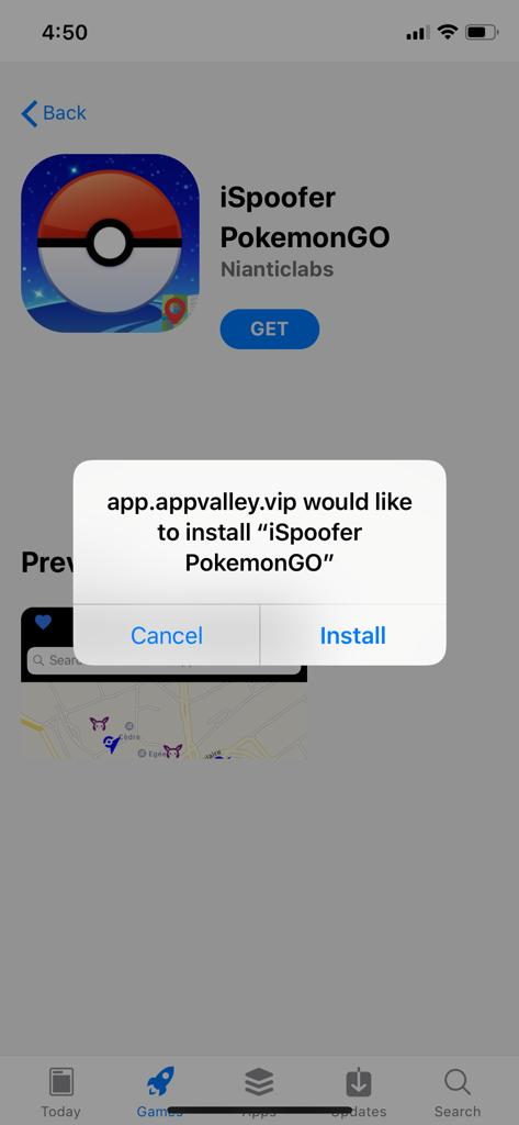 iSpoofer PokeGo - AppValley Steps to get it