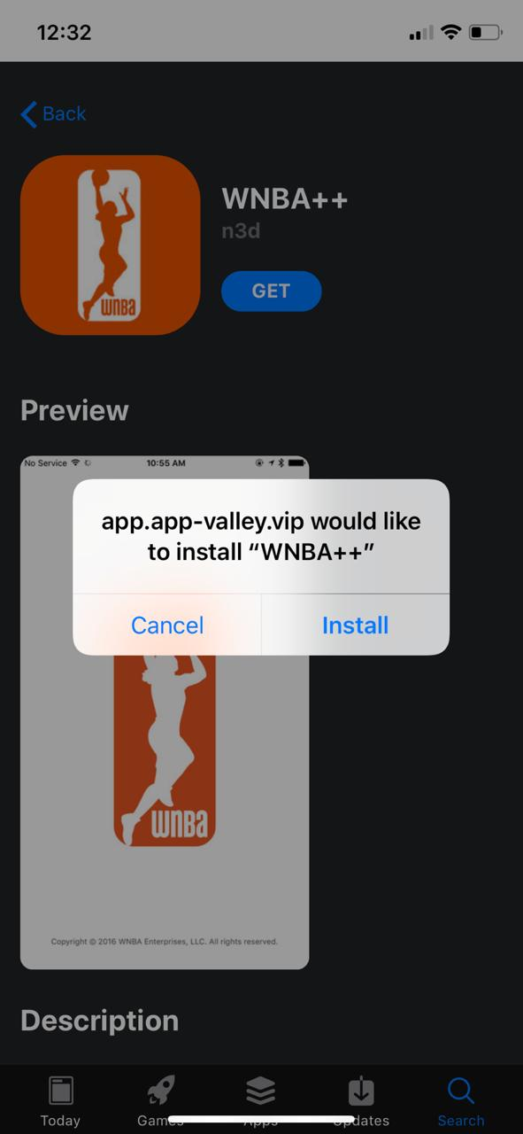 Updated WNBA++ on iOS