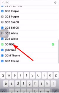 GC4iOS on iOS using AppValley