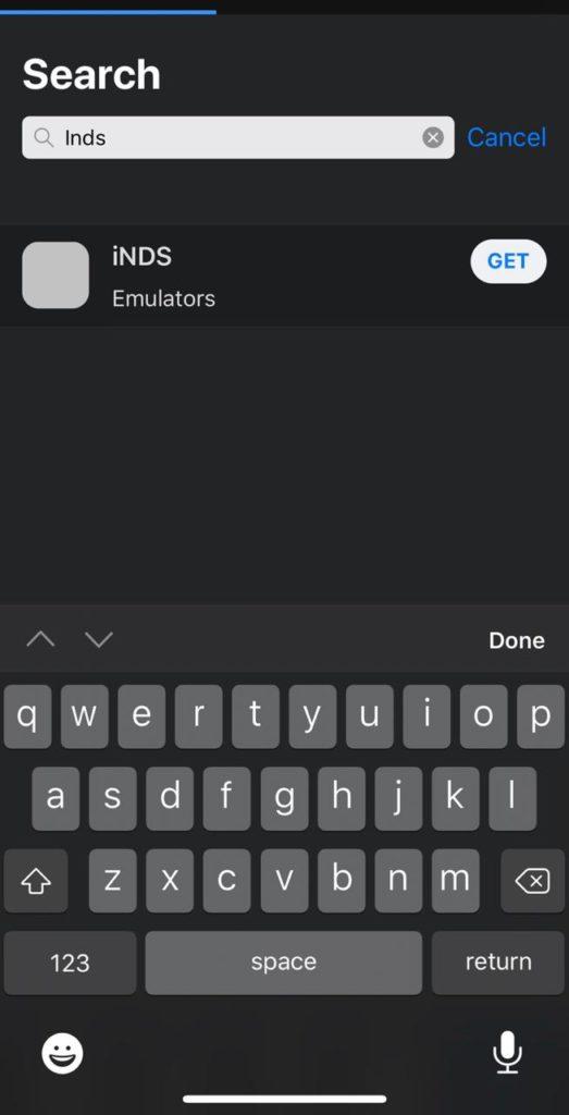 INDS Emulator iOS