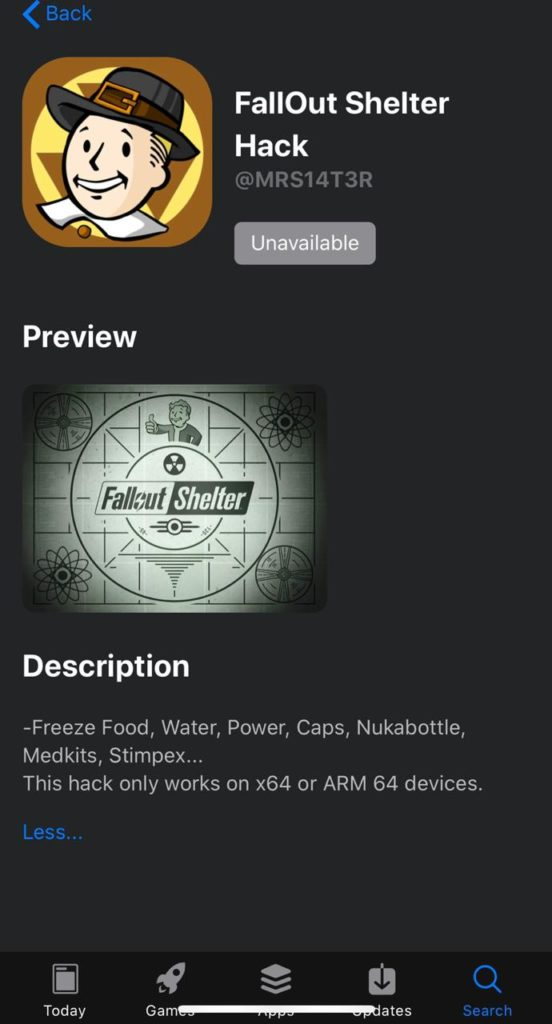 INSTALL FALLOUT SHELTER