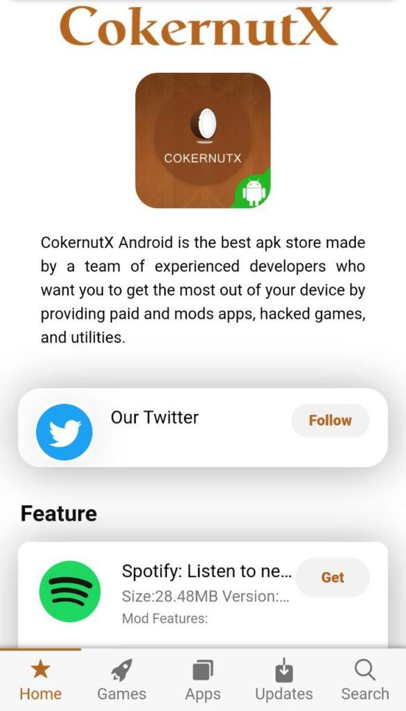 cokernutx APK