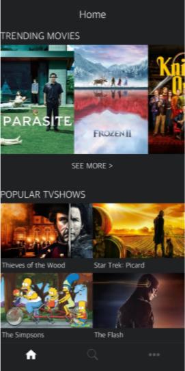 AstonCine Movies & TV Shows on iOS