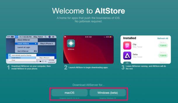 Install Altstore on iOS